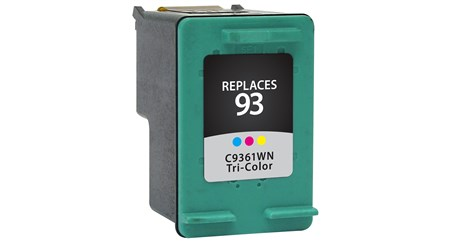 Tri-Color Inkjet Cartridge compatible with the HP (HP93) C9361WN