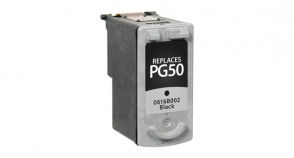 Black Inkjet Cartridge compatible with the Canon (PG-50) 0616B002
