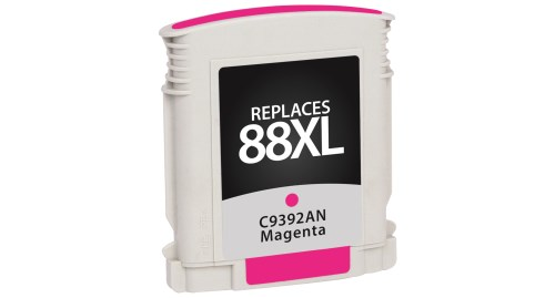 Compatible Premium Brand HP C9392AN HP 88XL High Capacity Magenta Inkjet Cartridge