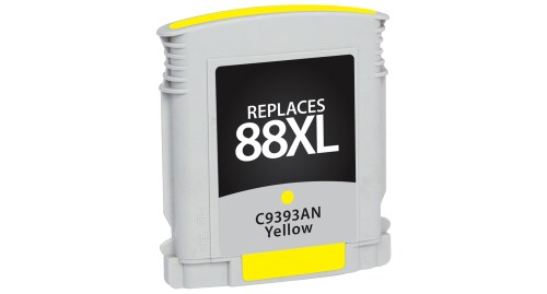 Compatible Premium Brand HP C9393AN HP 88XL High Capacity Yellow Inkjet Cartridge