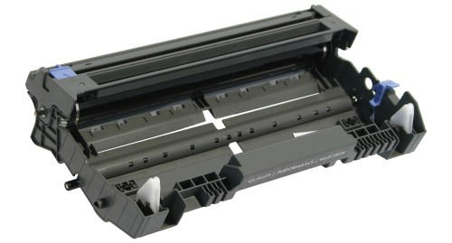 Black Drum Cartridge compatible with the Brother DR-520 . DR3100