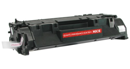 HP CE505A HP 05A Black MICR Toner Cartridge - Remanufactured 2.3K Pages
