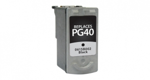 Black Inkjet Cartridge compatible with the Canon (PG-40) 0615B002