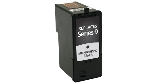 Dell MK990 , Series 9 Black Inkjet Cartridge