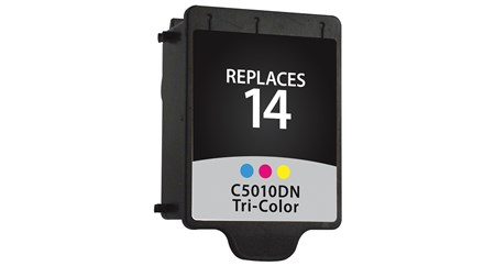 Compatible Premium Brand HP HP14 C5010DN Color Inkjet Cartridge