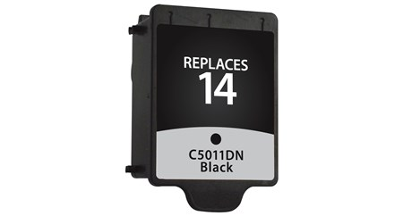 Compatible Premium Brand HP HP14 C5011DN Black Inkjet Cartridge