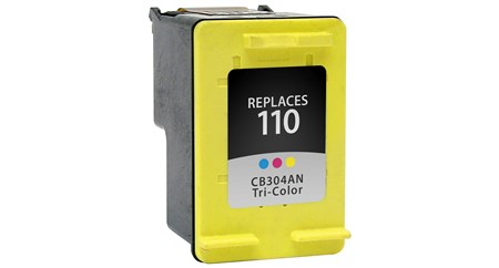 Compatible Premium Brand HP CB304AN HP 110 Tri-Color Inkjet Cartridge