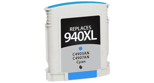 Compatible Premium Brand HP C4907AN HP 940XL Cyan Inkjet Cartridge