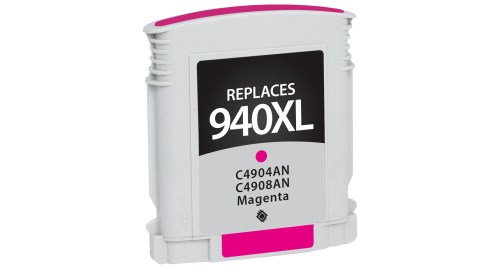 Compatible Premium Brand HP C4908AN HP 940XL Magenta Inkjet Cartridge