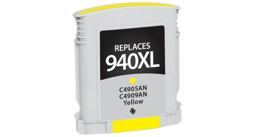 Compatible Premium Brand HP C4909AN HP 940XL Yellow Inkjet Cartridge