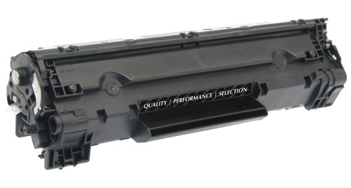 Black Toner Cartridge compatible with the HP (HP35A) CB435A