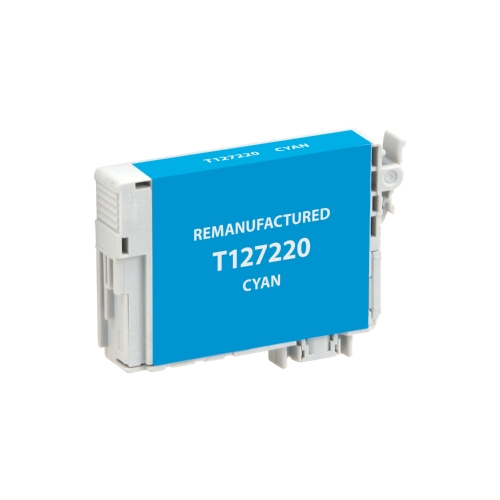 Epson 127 (T127220) Remanufactured Cyan Extra High-Yield Ink Cartridge
