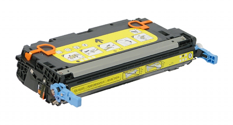 Canon 1657B001AA, CRC-111Y High Capacity Yellow Laser Toner Cartridge