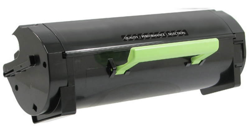 Lexmark 50F0HA0 , 50F1H00 Black Toner Cartridge