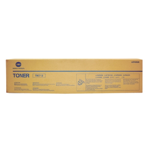 Konica Minolta A3VU030 OEM Black Toner Cartridge, 40.8K YIELD