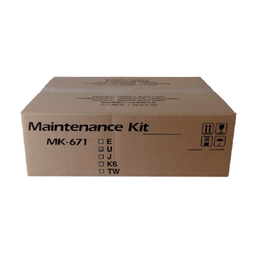 Kyocera Mita MK671 OEM Maintenance Kit, 300K YIELD