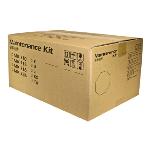 Kyocera Mita MK716 OEM Maintenance Kit, 500K YIELD