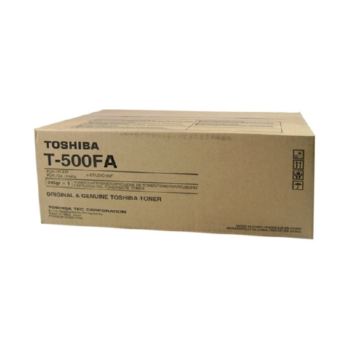 Toshiba ZT500FA OEM Black Toner Cartridge, 3K YIELD