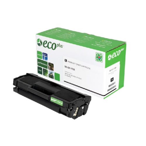 Black Toner Cartridge compatible with the Dell 331-7335