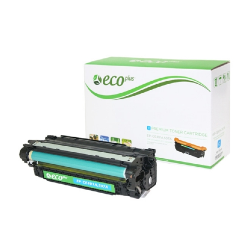 Cyan Toner Cartridge Remanufactured with the HP CE401A