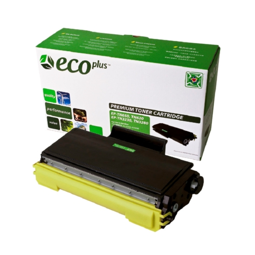 Black Toner Cartridge compatible with the Brother TN650