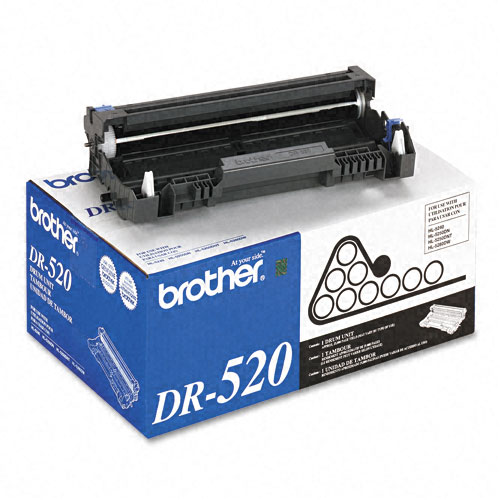 Brother DR520 (25,000 YLD) Genuine Brother Drum Cartridge