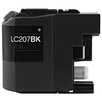 Brother LC207BK Extra High Yield Black Inkjet Cartridge