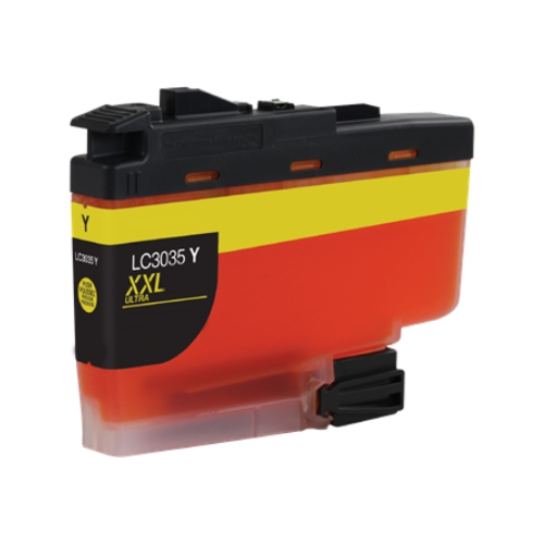 Brother LC3035Y Ultra High Yield Yellow Ink Cartridge