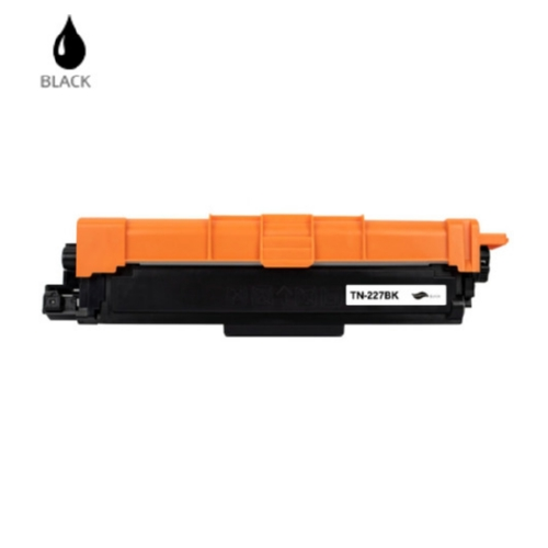 Premium Brand Brother CompatibleTN-227BK Black Toner Carrtridge
