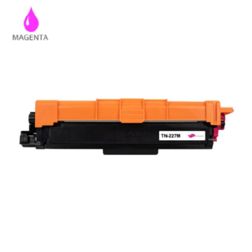 Premium Brand Brother Compatible TN-227M Magenta Toner Cartridge