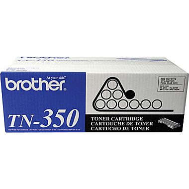 Brother TN-350 Black Toner Cartridge (Genuine Brother)
