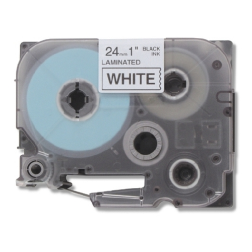 Brother Compatible TZe-251 P-Touch Label Tape, Black on White
