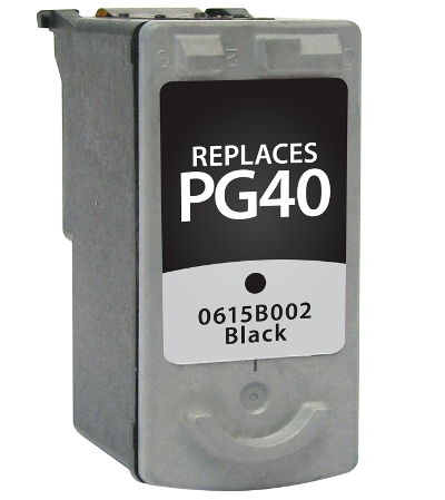 Canon 0615B002 , PG-40 Black Inkjet Cartridge
