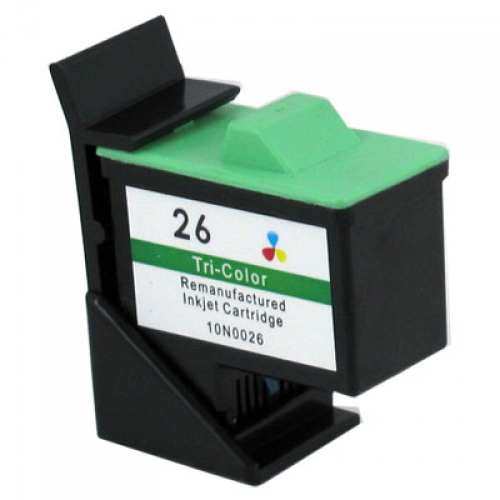 Compatible Premium Brand Lexmark 10N0026 Color Inkjet Cartridge