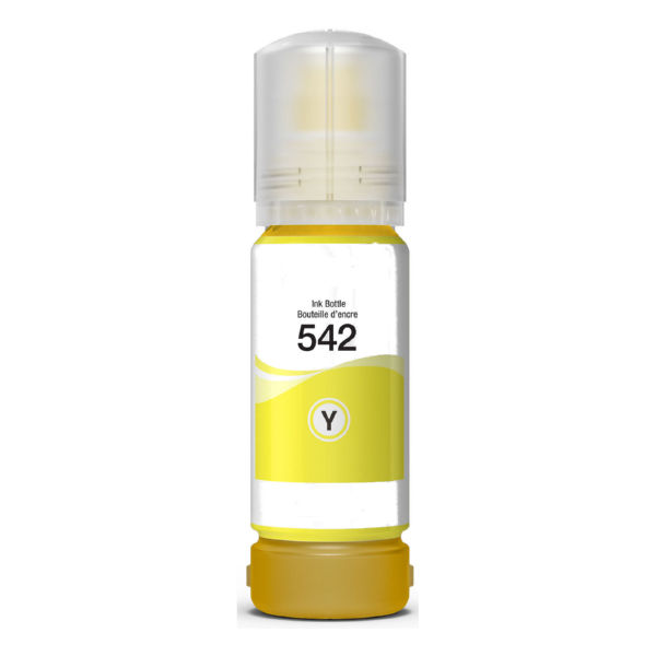 Epson T542420-S (T542) Dye Yellow Ink Bottle