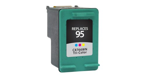 Remanufactured Alternative to HP C8766WN (HP 95) Tri-Color Inkjet Cartridge