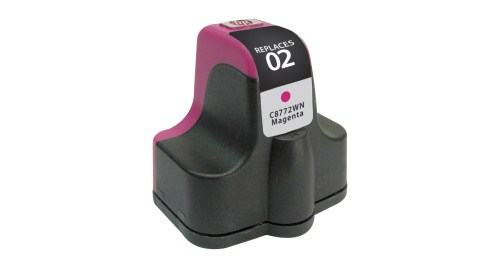 Compatible Premium Brand HP C8772WN HP 02 Magenta Inkjet Cartridge