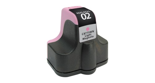 Compatible Premium Brand HP C8775WN HP 02 Light Magenta Inkjet Cartridge