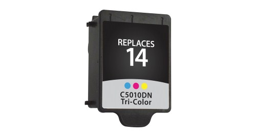 Color Inkjet Cartridge compatible with the HP (HP14) C5010DN