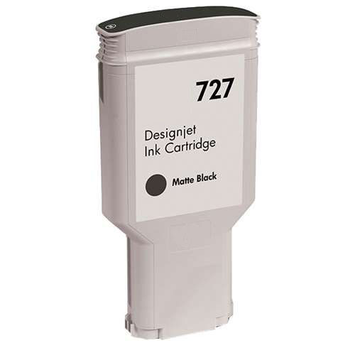 HP C1Q12A #727 Matte Black InkJet Cartridge