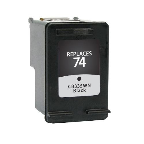 Compatible Premium Brand HP CB335WN HP 74 Black Inkjet Cartridge