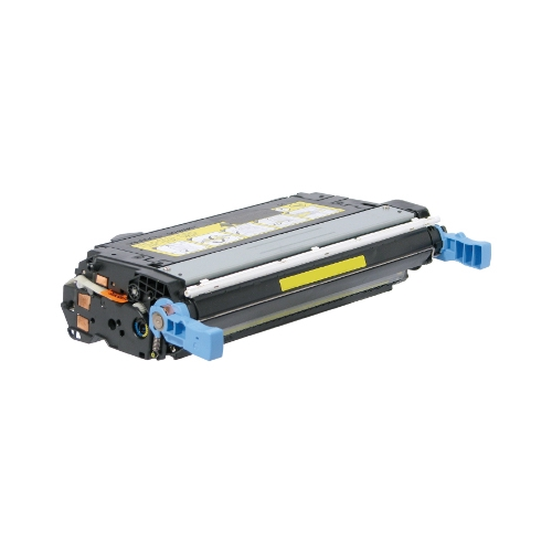 TAA Compliant Remanufactured HP CB402A (HP 642A) Yellow Toner Cartridge