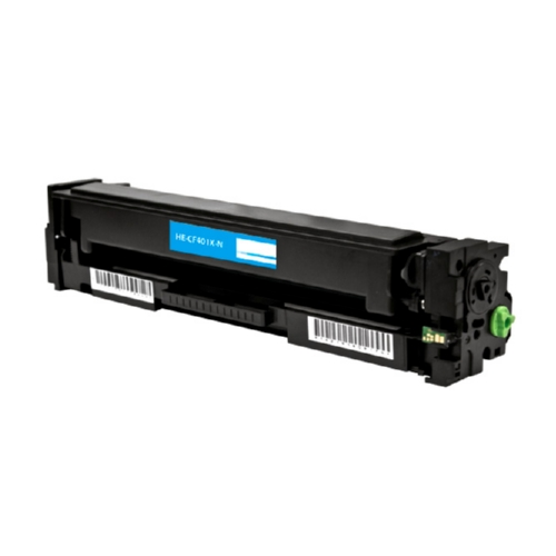 Compatible Premium Brand HP CF401X HP 201X Cyan High Yield Toner Cartridge