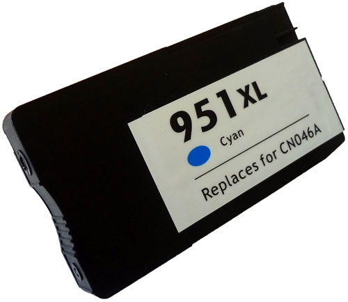 HP CN046AN (HP 951XL) Cyan Inkjet Cartridge
