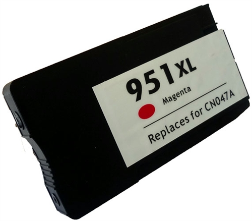 Magenta Inkjet Cartridge compatible with the HP (HP951XL) CN047AN