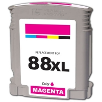 HP C9392AN (HP 88XL) High Capacity Magenta Inkjet Cartridge