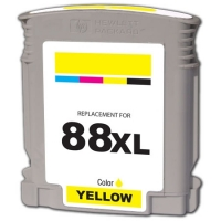 HP C9393AN (HP 88XL) High Capacity Yellow Inkjet Cartridge