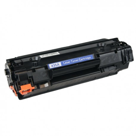 Black MICR Toner Cartridge compatible with the HP (MICR) CB435A