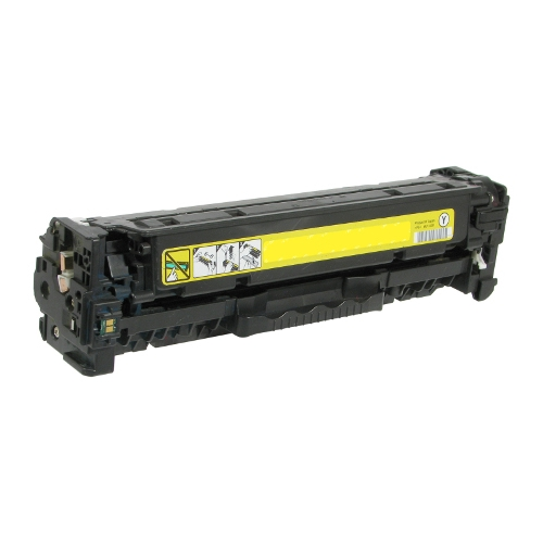 TAA Compliant Remanufactured HP CC532A (HP 304A) Yellow Toner Cartridge