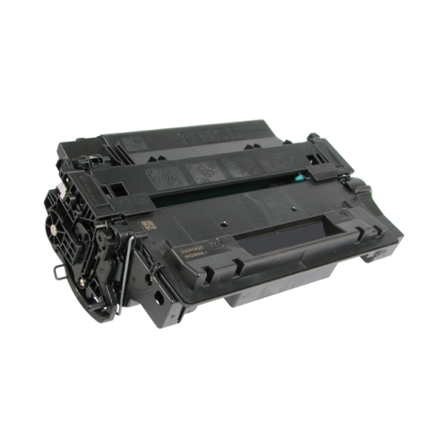 HP Compatible CE255X (55X) High Capacity Black Toner Cartridge, 12500 Page Yield